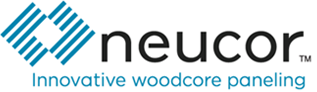 Logo for Neucor - Lightweight, sustainably-sourced composite wood paneling